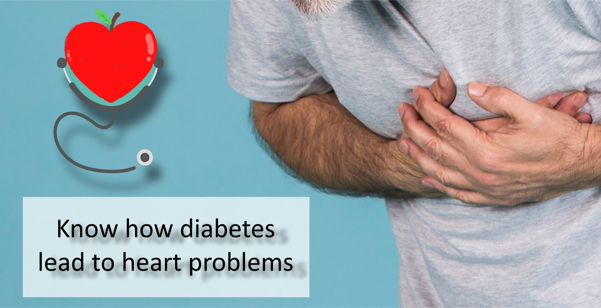 Know how diabetes lead to heart problems