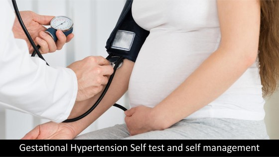 Gestational Hypertension Self test and self management