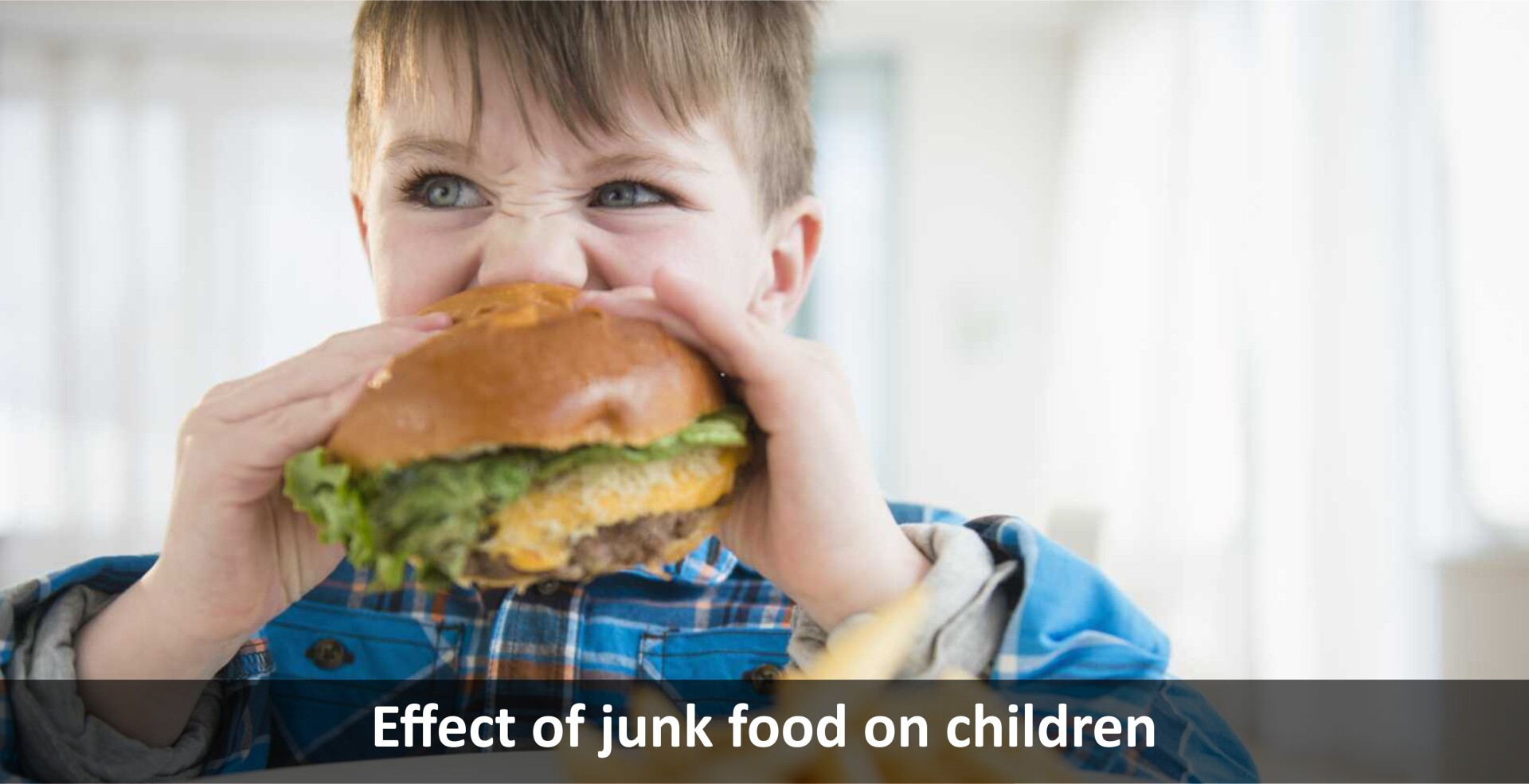 Effect of junk food on children