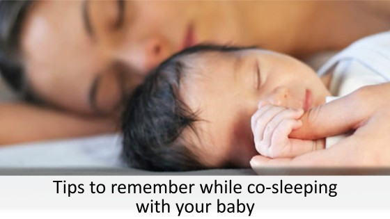 Tips to remember while co-sleeping with your baby (1)